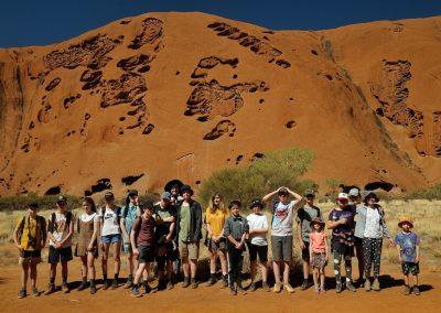CA Group at Uluru