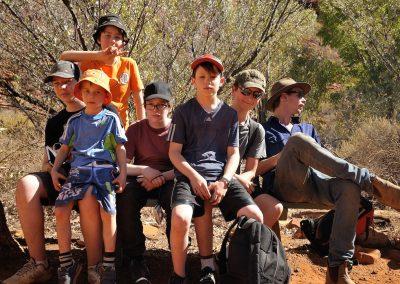 CA Students at King's Canyon